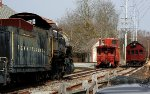 PRR 60, 4662 and caboose 88